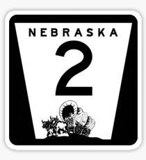 Highway 2, Nebraska Sticker