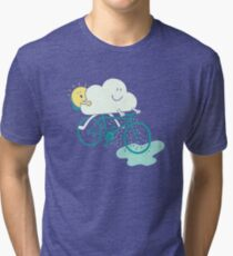 Weather Cycles Tri-blend T-Shirt