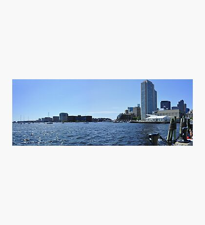 City of Boston Series The Waterfront at Long Wharf  Photographic Print