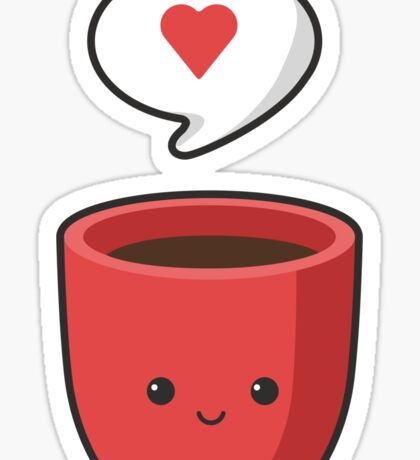 Cute Mug Sticker