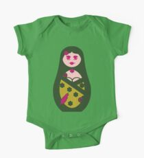 ★ Cute Matriochka  Sister - Dark Green ★ Kids Clothes