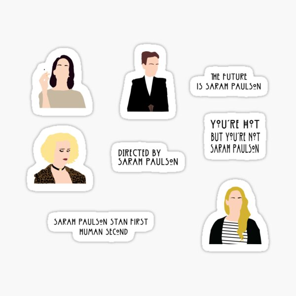 Paulson -Pack of stickers- Sticker