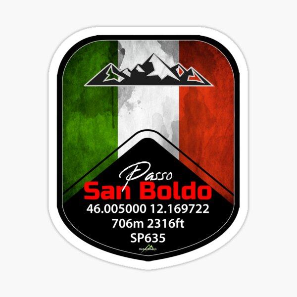 Passo San Boldo Italy Sticker & T-Shirt Sticker