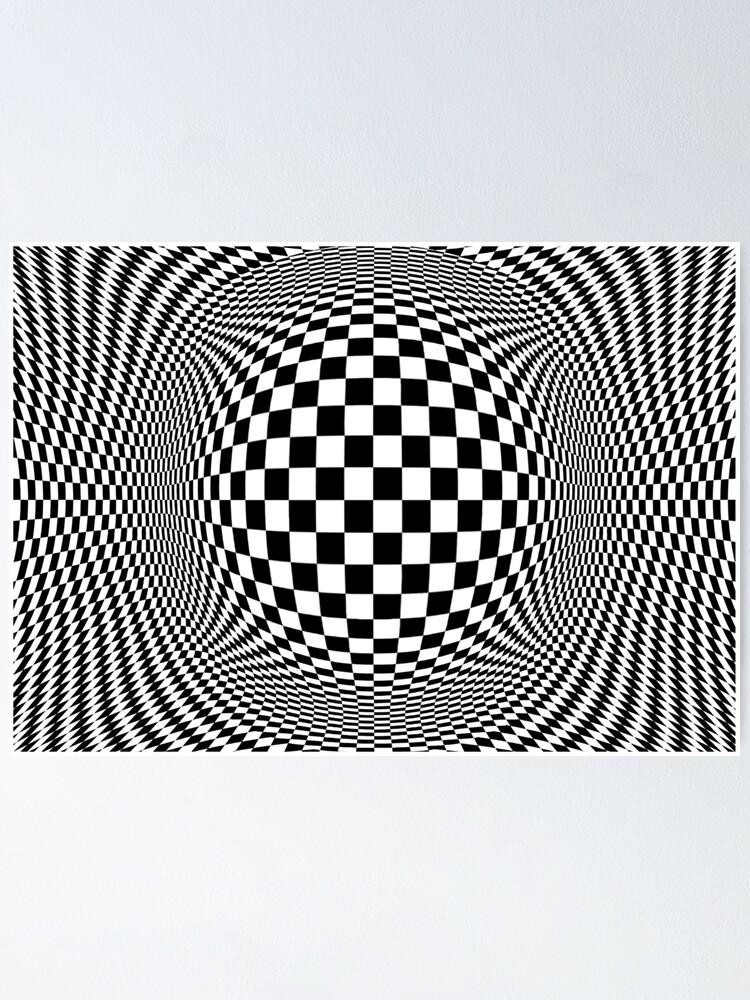 Alternate view of Optical Illusion, visual illusion, #OpticalIllusion, #visualillusion, #Optical, #Illusion, #visual Poster