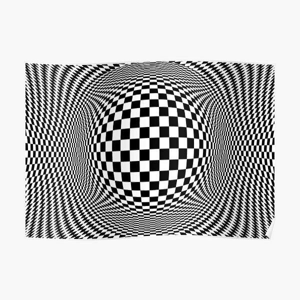 Optical Illusion, visual illusion, #OpticalIllusion, #visualillusion, #Optical, #Illusion, #visual Poster