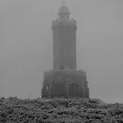 misty weather over darwen tower by michaelwallwork