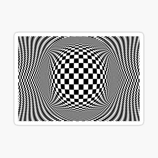 Optical Illusion, visual illusion, #OpticalIllusion, #visualillusion, #Optical, #Illusion, #visual Sticker
