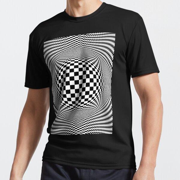 Optical Illusion, visual illusion, #OpticalIllusion, #visualillusion, #Optical, #Illusion, #visual Active T-Shirt