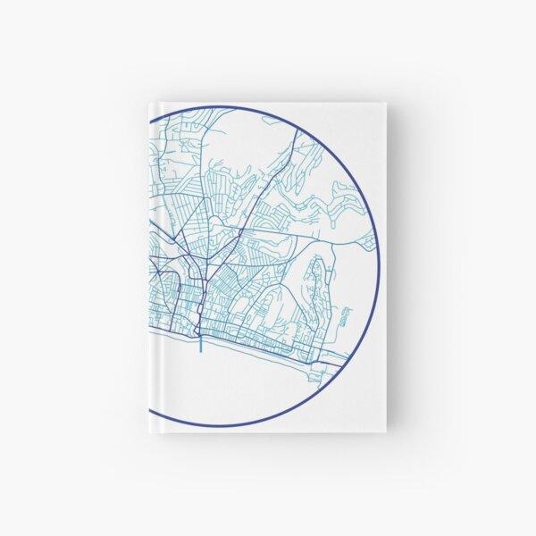 Brighton in Blue Hardcover Journal
