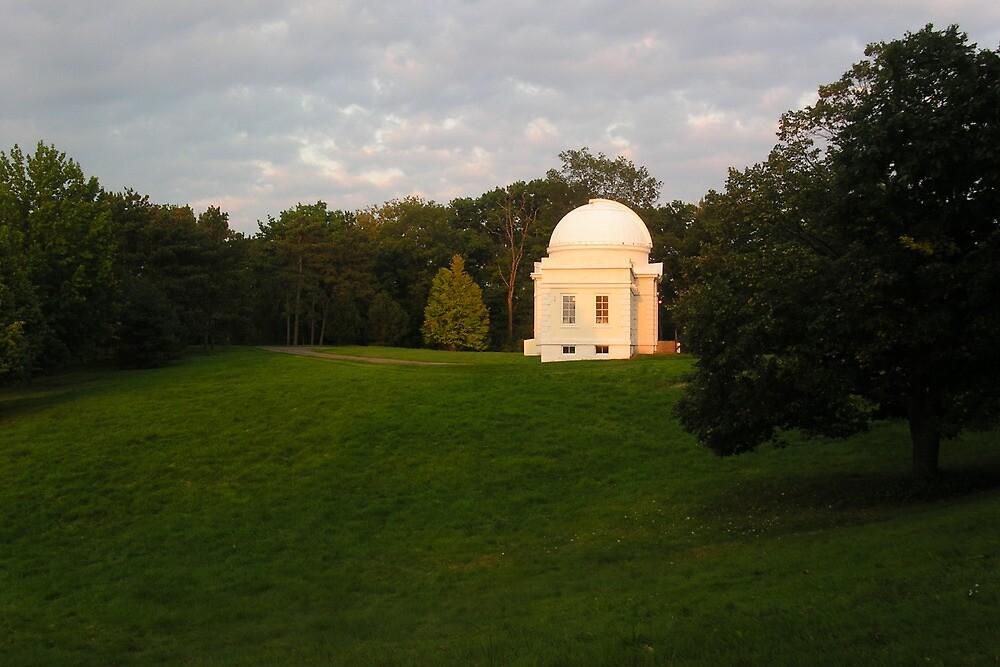Fuertes Observatory, Cornell University by Mark  Reep