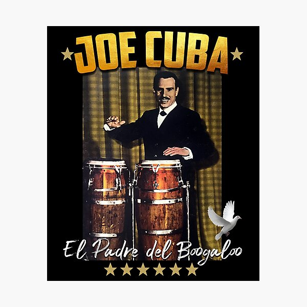 Joe Cuba Salsa Fania Photographic Print