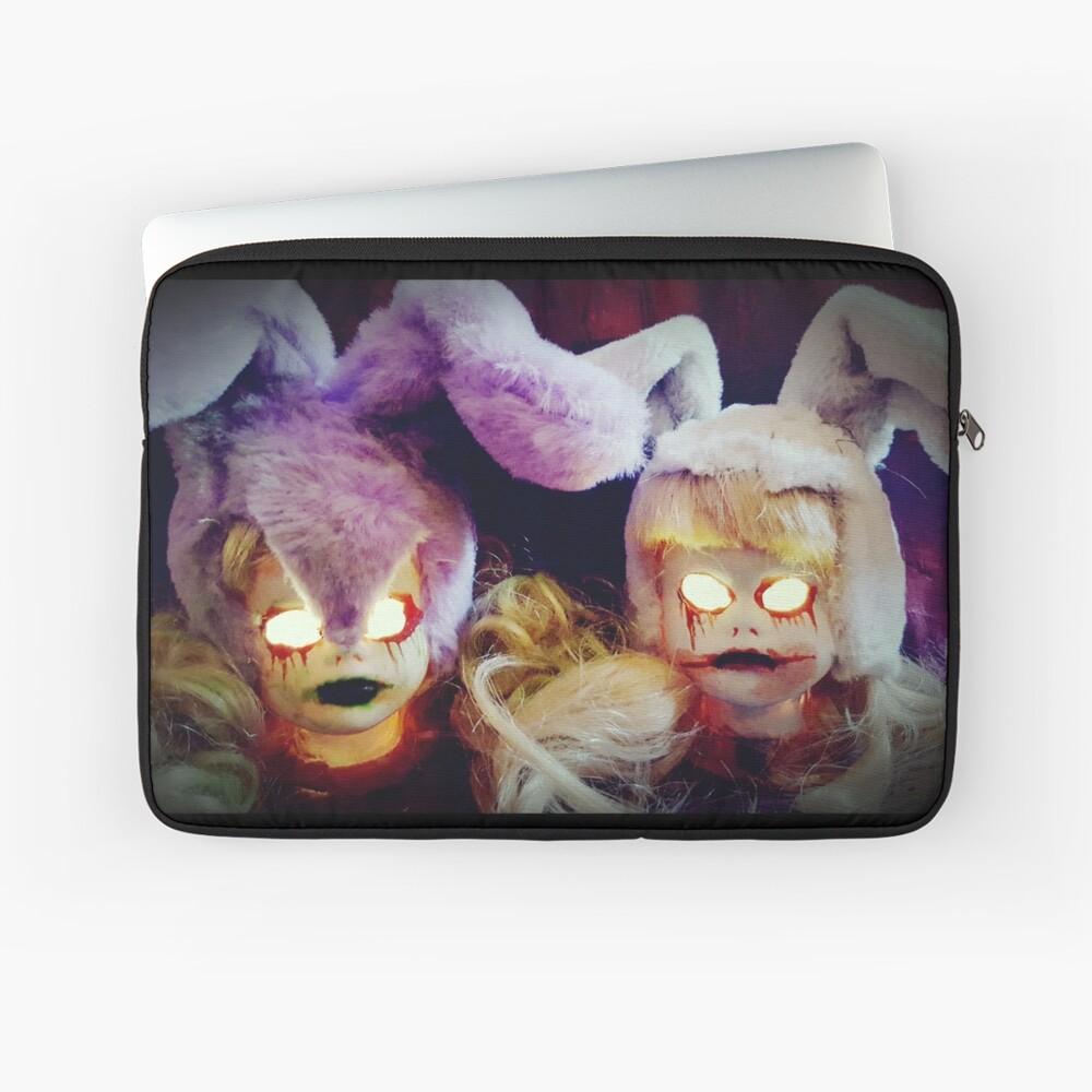 Horror Bunny Dolls ~ Lady Scream  Laptop Sleeve