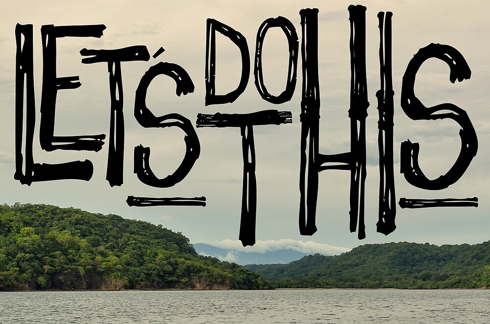 LETS DO THIS by RichCaspian