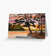 Pinic Point Greeting Card