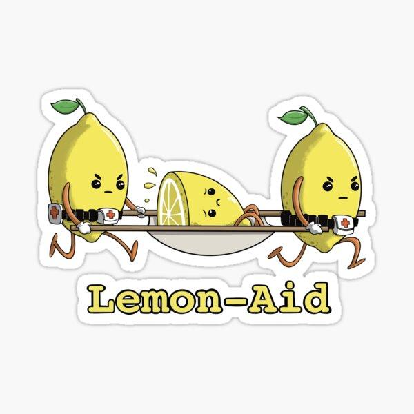 Lemon-Aid to the Rescue Sticker