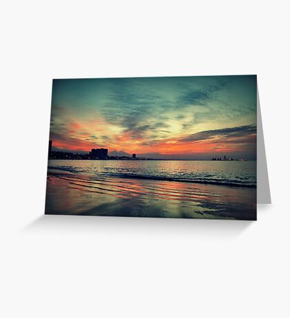 In Between Night and Day Greeting Card