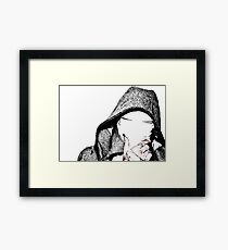 The Gimp Framed Print
