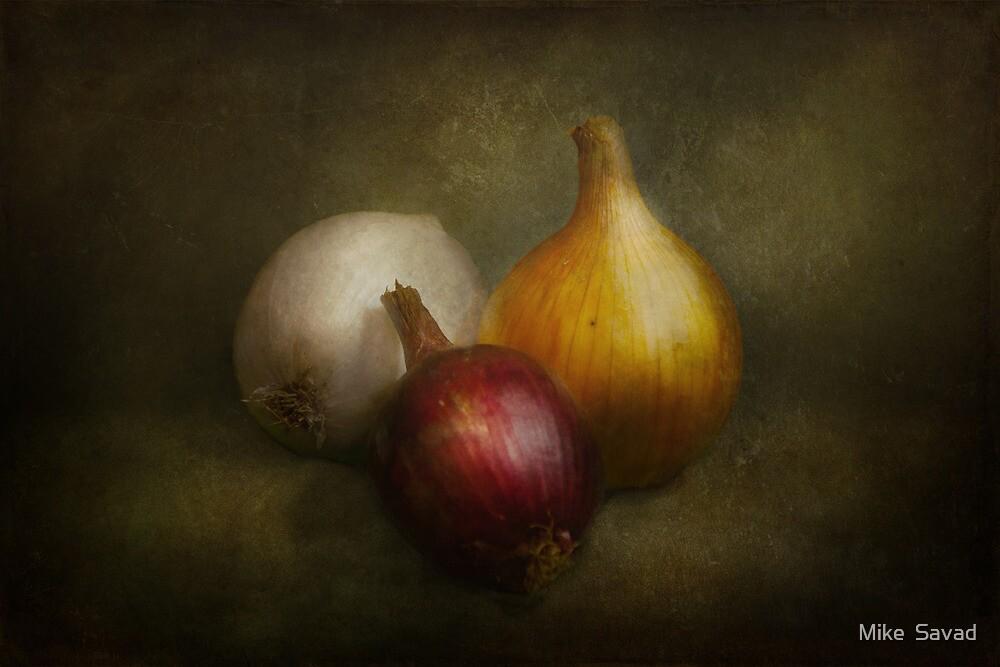 Food - Onions - Onions  by Michael Savad