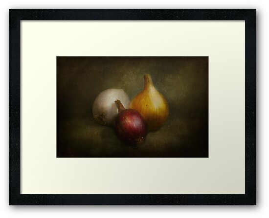 Food - Onions - Onions  by Michael Savad