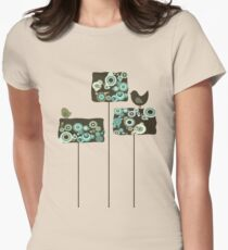 Funky Forest Women's Fitted T-Shirt