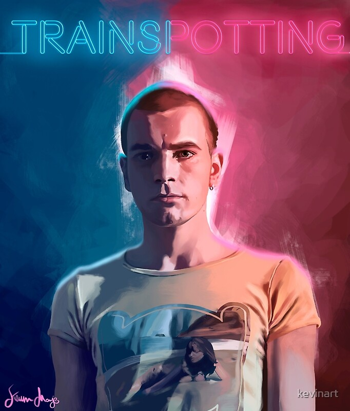 Trainspotting renton by kevin monje