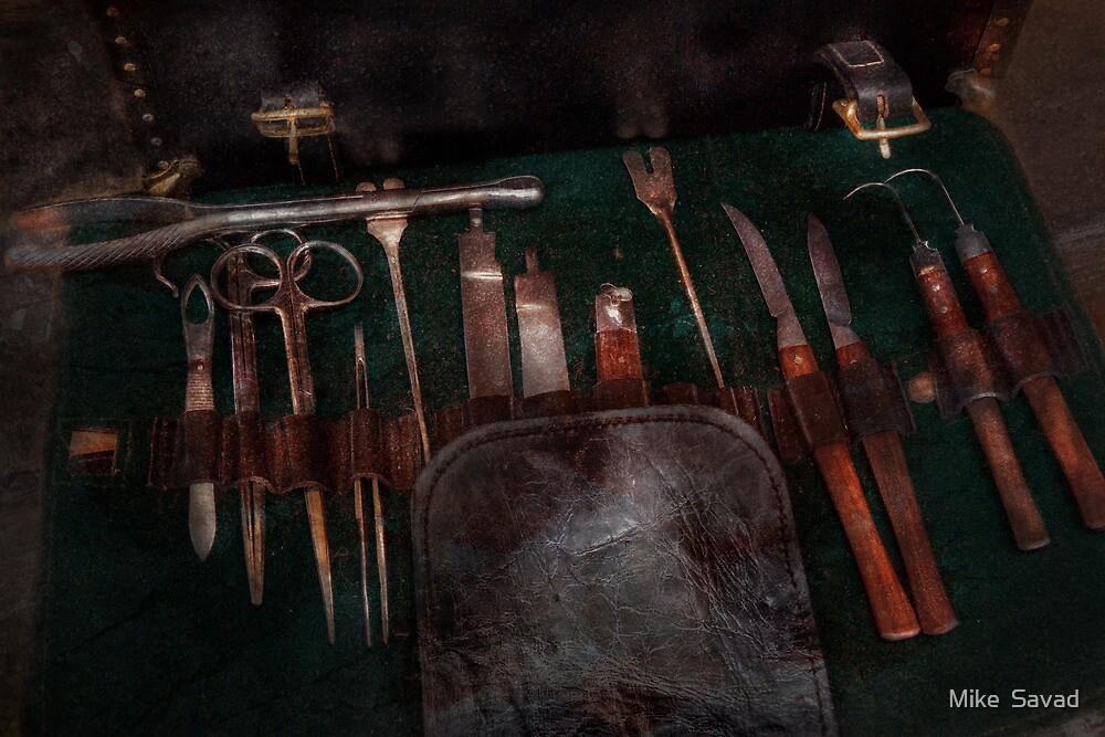 Doctor - Civil war instruments by Michael Savad