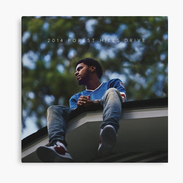 2014 Forest Hills Drive j cole Canvas Print