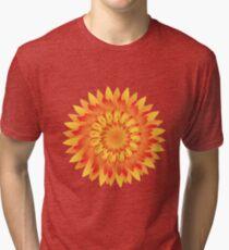 Firery Dahlia Tri-blend T-Shirt