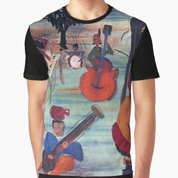 The Band Music de Big Pink (portada del álbum) Camiseta gráfica