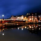 Whitby Swing Bridge by Dave Hudspeth