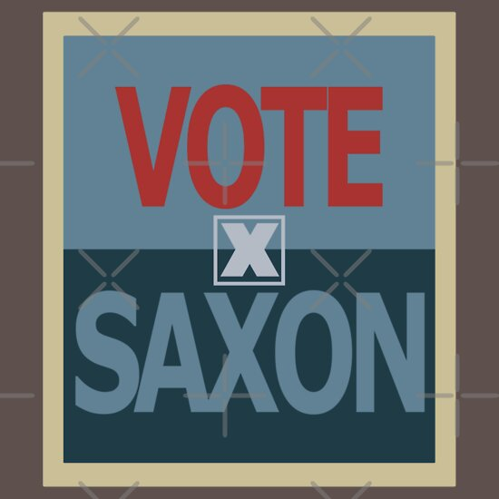 TShirtGifter presents: Vote Saxon