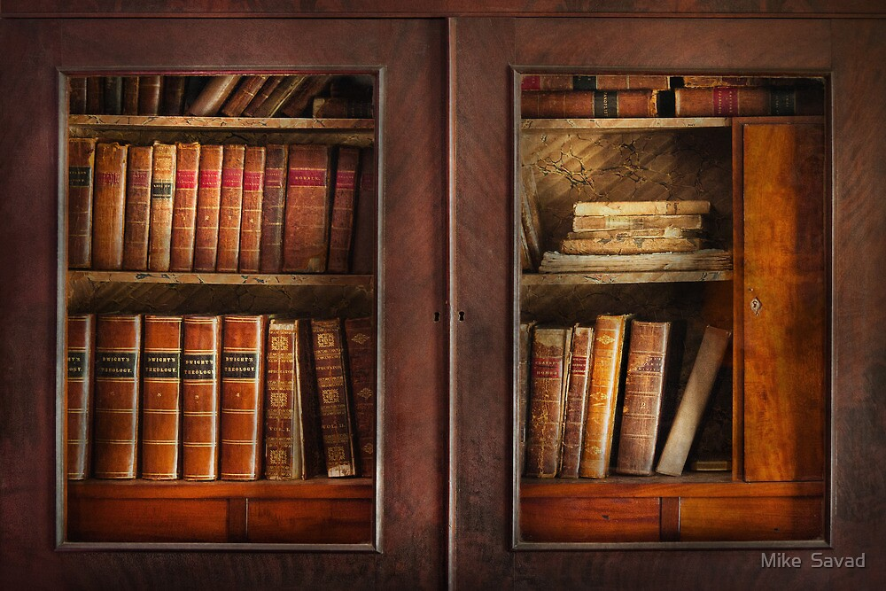 Writer - Books - The book cabinet  by Michael Savad