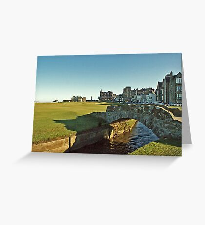 Golf's Old Course, St Andrews, Scotland Greeting Card
