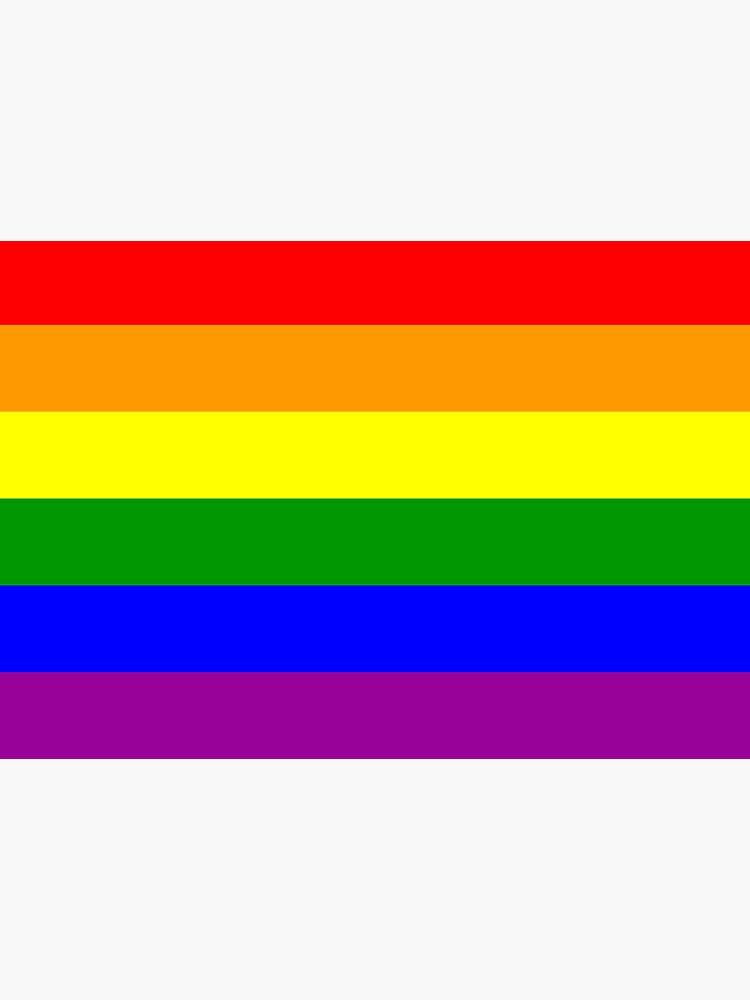 GAY. Gay Pride. Rainbow Flag. LGBT. Pride Flag. by TOMSREDBUBBLE