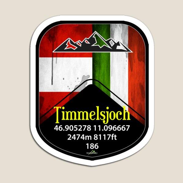 Timmelsjoch Austria Sticker Magnet