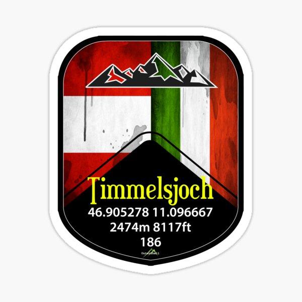 Timmelsjoch Austria Sticker Sticker