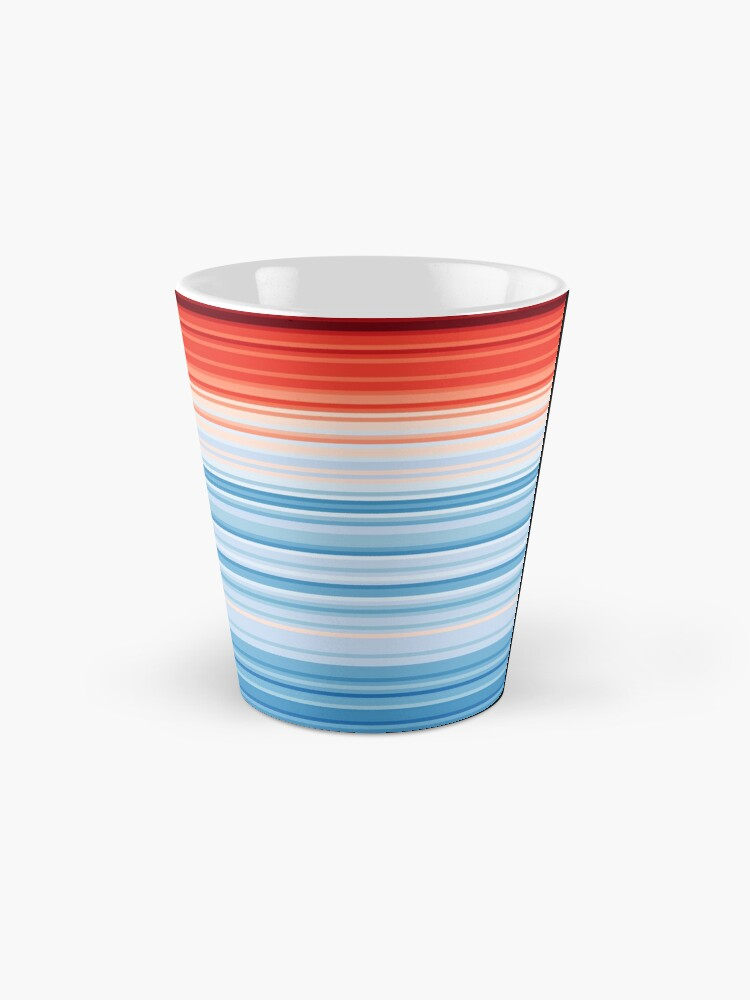 Alternate view of Climate Change Stripes Mug