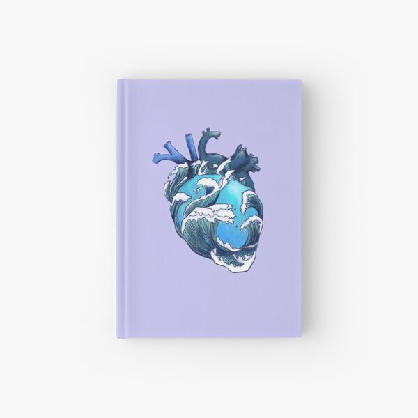 Beneath the Waves Hardcover Journal