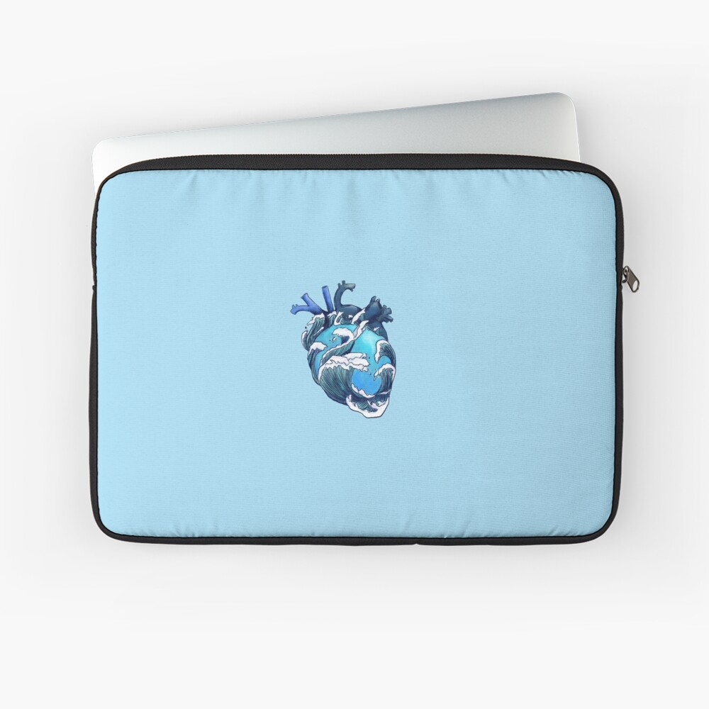 Beneath the Waves Laptop Sleeve