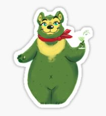 Septembear: Appletini  Sticker