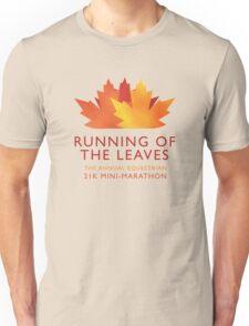 Running of the Leaves Unisex T-Shirt