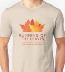 Running of the Leaves Unisex T-Shirt