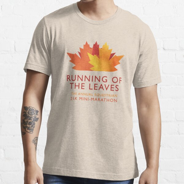 Running of the Leaves Essential T-Shirt