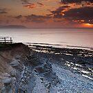 Kilve Stormy Sunset by kernuak