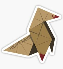 HEAVY RAIN: ORIGAMI BIRD Sticker