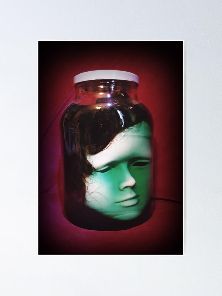 Alternate view of Head In A Jar ~ Lady Scream Poster