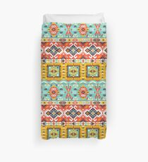 Aztec colorful fashion pattern Duvet Cover