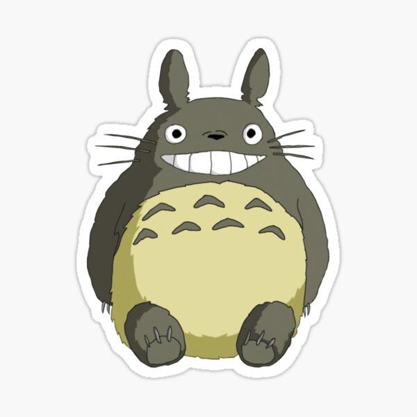Totogro Sticker
