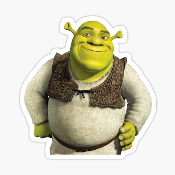 Shrek Art Stickers Redbubble