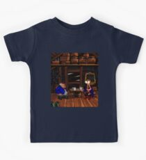 Drinking contest with Rum Rogers Jr (Monkey Island 2) Kids Clothes